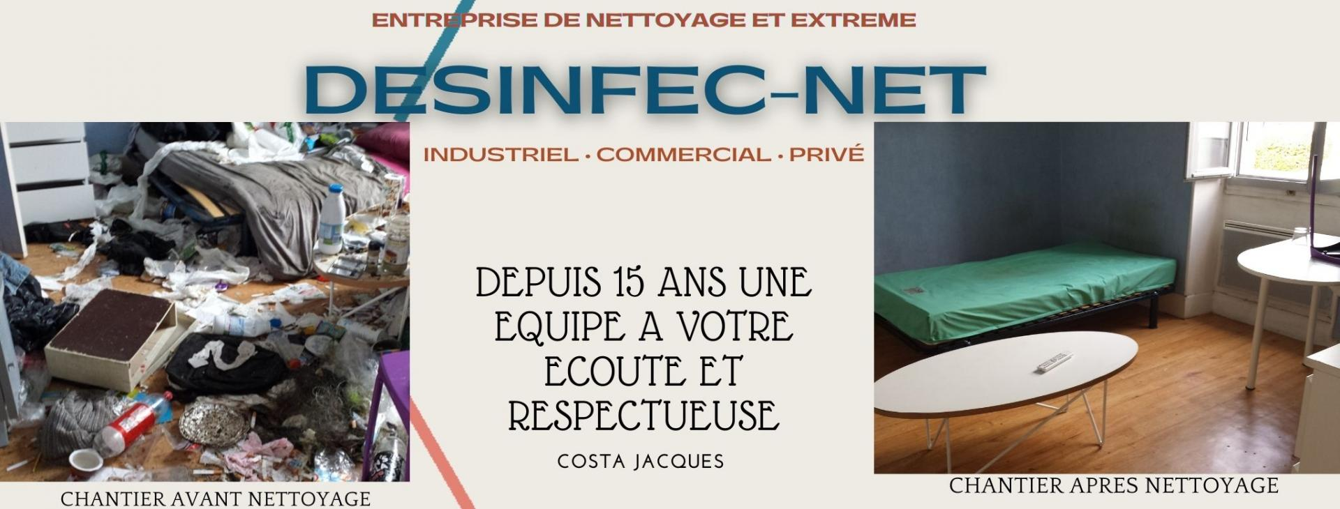 jacques costa nettoyage et desinfection